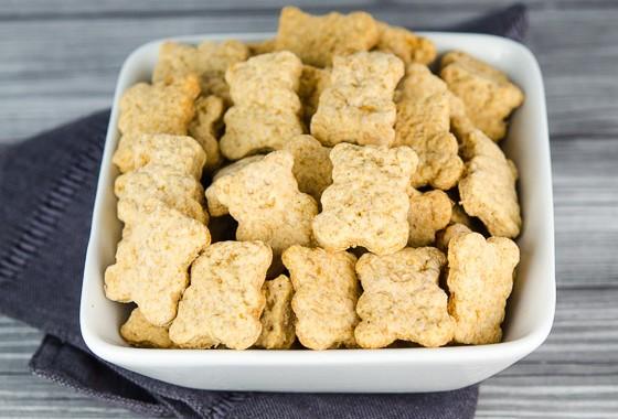Homemade Baby Bear Honey Graham Cookies