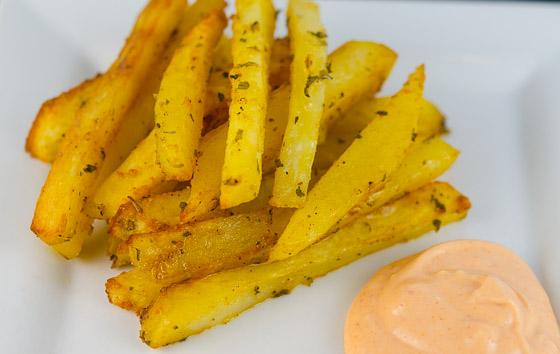 Italian Fries Recipe — Dishmaps