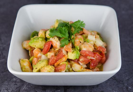 Zesty Shrimp, Avocado, Cilantro and Lime Salad | © www.toochskitchen ...